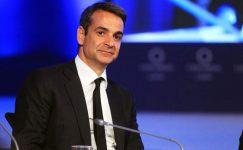 Coronavirüs çalışma için Yunanistan'ın tepkisi, Mitsotakis CNN söyler