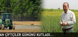 Gürkan, Çiftçiler Gününü Kutladı