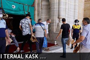 Edirne'de Virüse Karşı Termal Kask