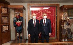 Bakan Karaismailoğlu'dan Başkan Zolan'a ziyaret