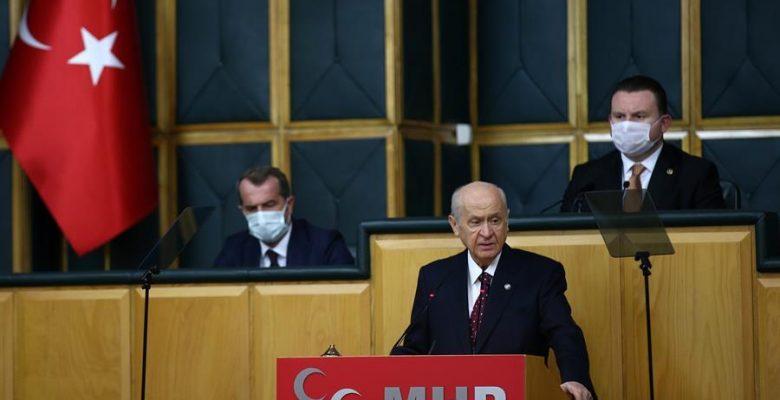 MHP lideri partisinin iktidardaki AKP ile ittifakını kucaklıyor