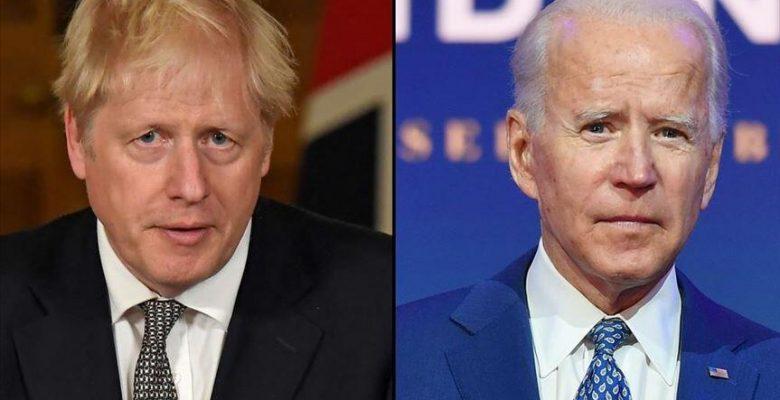 Biden ve Johnson ilk toplantıyı yaptılar, ancak Kuzey İrlanda gölge düşürdü