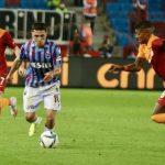 Trabzonspor, evinde Galatasaray ile 2-2 berabere kalmak için mücadele ediyor