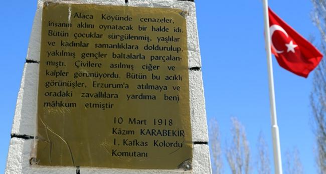 'Ermeni çeteleri, Alaca köyünde 278 kişiyi katletti'