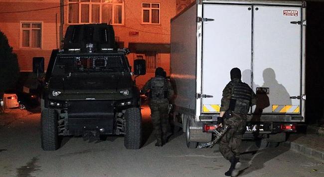 İstanbul'da terör örgütüne hava destekli operasyon