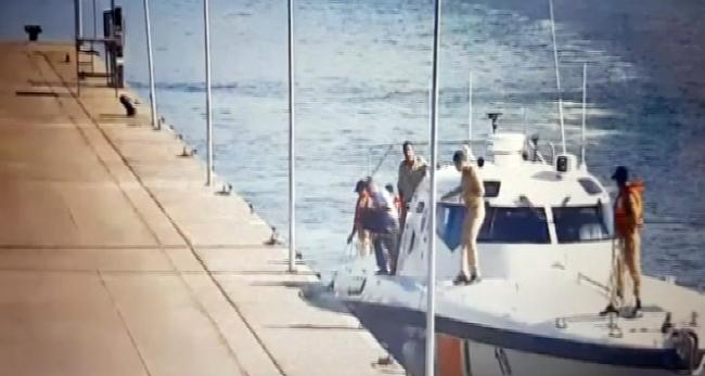 Darbeci amirallerin kaçış anı kameralarda