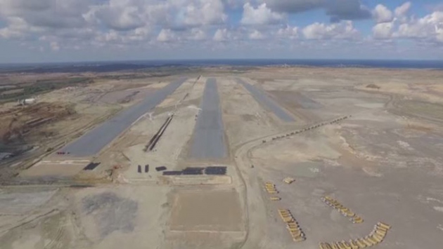 İstanbul üçüncü havalimanında ilk pist ortaya çıktı