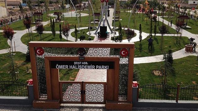 Niğde'de 'Şehit Ömer Halisdemir Parkı' açılacak