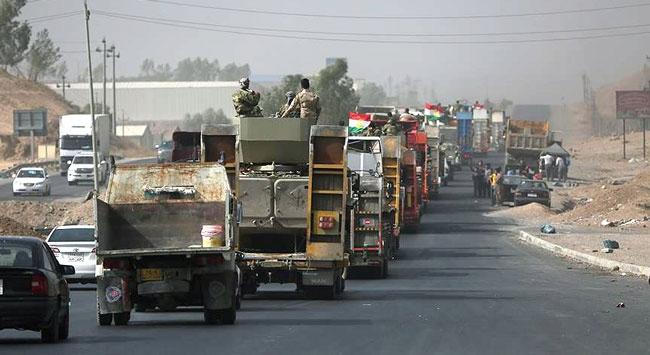 Musul'u kurtarma operasyonunda Irak askerleri arasında Şii milislerin de olduğu iddiası