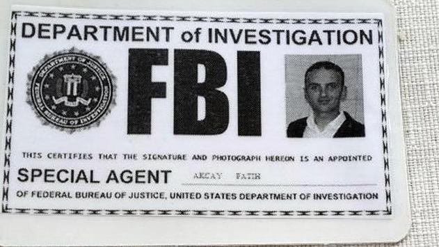 Sahte 'FBI' kimliğiyle yakalanan zanlıdan ilginç savunma