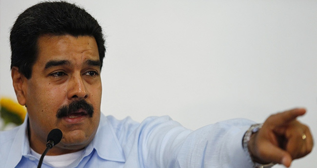 Venezuela Devlet Başkanı Maduro, ABD'yi komplo kurmakla suçladı