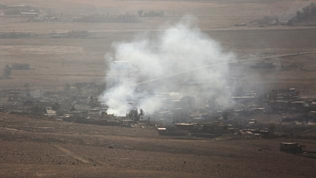 Fırat Kalkanı Harekatı'nda DEAŞ'a ait 12 hedef imha edildi