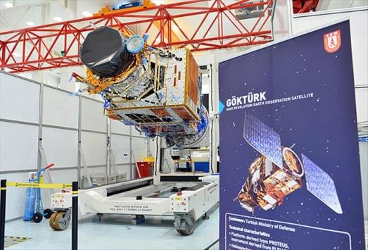 Göktürk1 uydusu yarın uzaya fırlatılacak