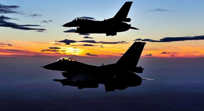 DEAŞ'a ait 12 hedef hava harekatıyla vuruldu