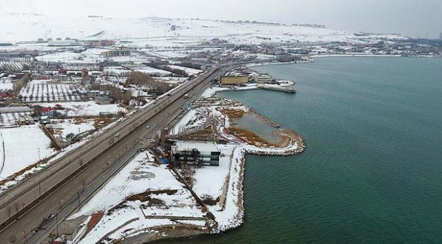 Van Gölü'nün çehresi 'Sahil Kordonu' ile değişiyor