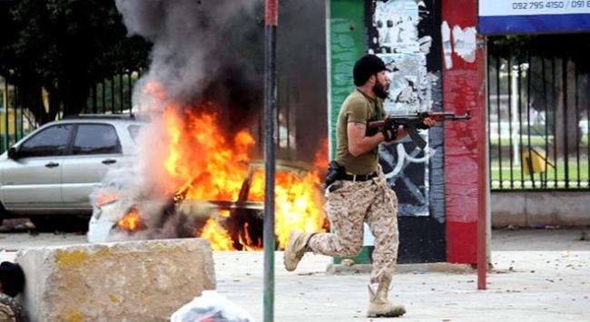 Libya'daki çatışmalar 16 cana mal oldu