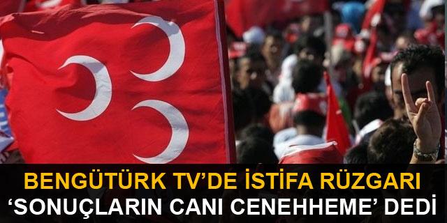 """Bengütürk TV'de istifa rüzgarı! """"Sonuçların canı cehenneme"""" dedi"""
