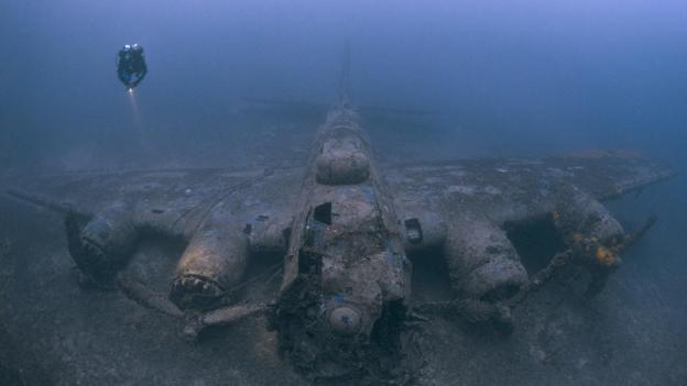 Kayıp gemi ve uçak kazalarının ürkütücü sualtı görüntüleri