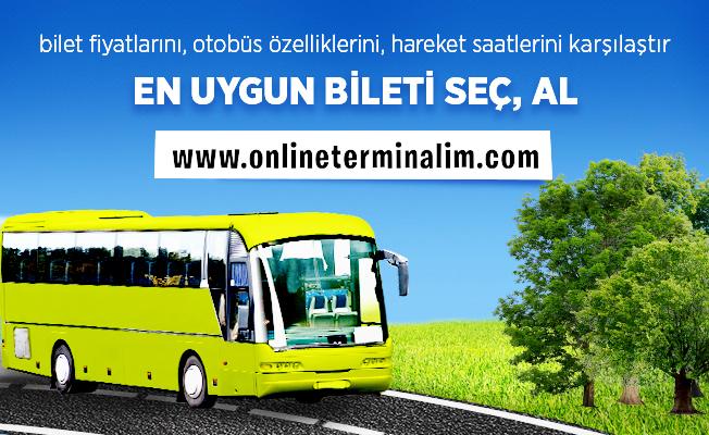 Türkiye'nin en büyük otobüs terminali: Online Terminalim