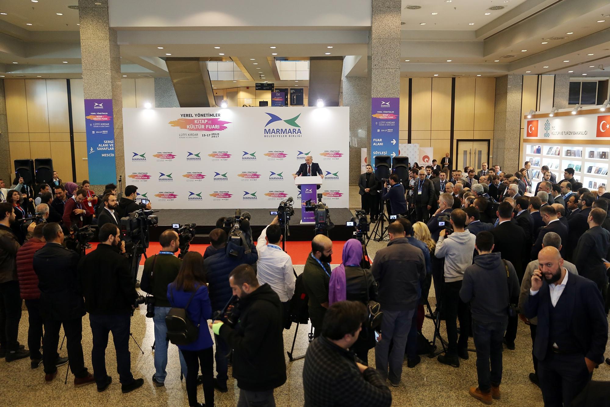 Yerel Yönetimler Kitap ve Kültür Fuarı'nın açılışı yapıldı