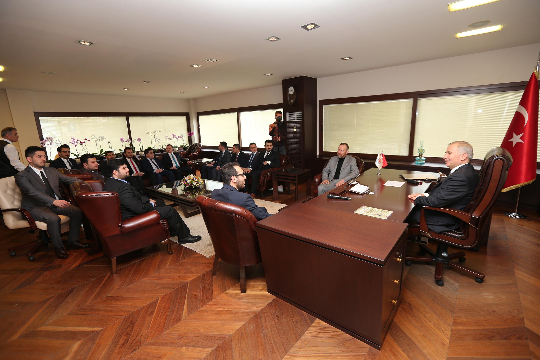 Genç MÜSİAD'tan Başkan Zolan'a ziyaret