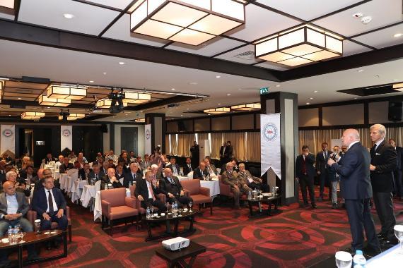Ali Düşmez, TASKK 40. Başkanlar Kurulu Toplantısı'na katıldı