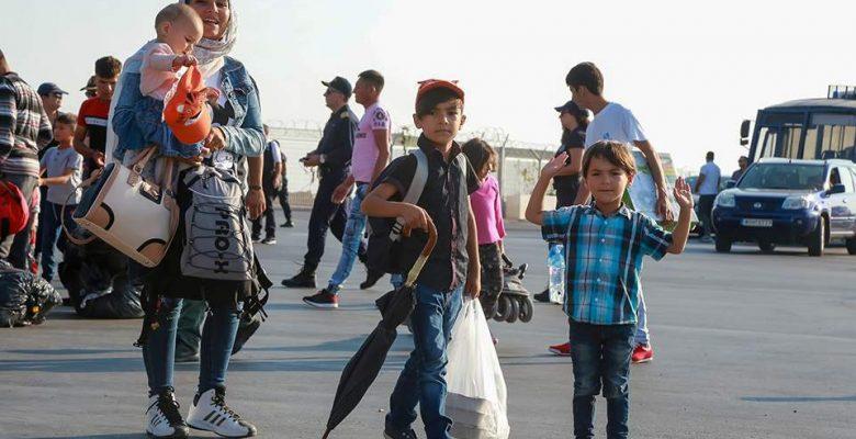 Daha fazla göçmen anakaraya transfer oldu