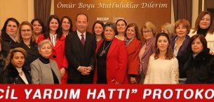Edirne'de Acil Yardım Hattı Protokoü