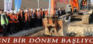 Edirne'de Alt Yapı Çalışmaları Başladı