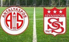 Antalyaspor – Sivasspor maçı ne zaman, hangi kanalda, saat kaçta?