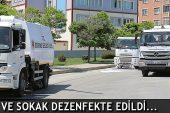 Edirne'de 2 Bin 200 Cadde ve Sokak Dezenfekte Edildi