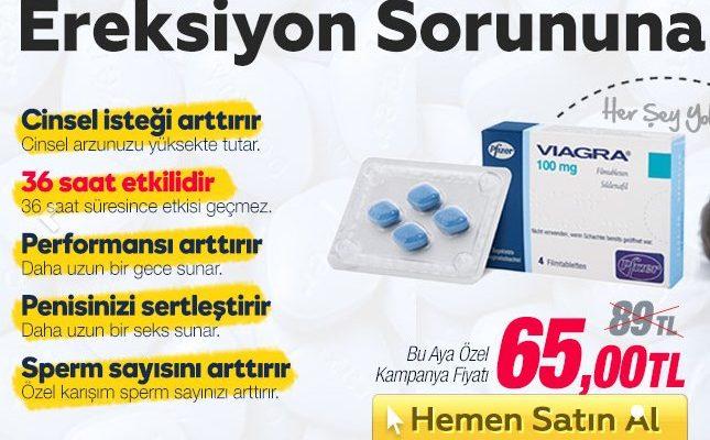 Viagra Cinsel Güç Artırıcı İlaç