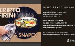 Kripto Fırını & SnapEx Demo Trade Yarışması