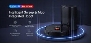 İşte karşınızda Akıllı Lydsto R1 toz alan robot süpürge!