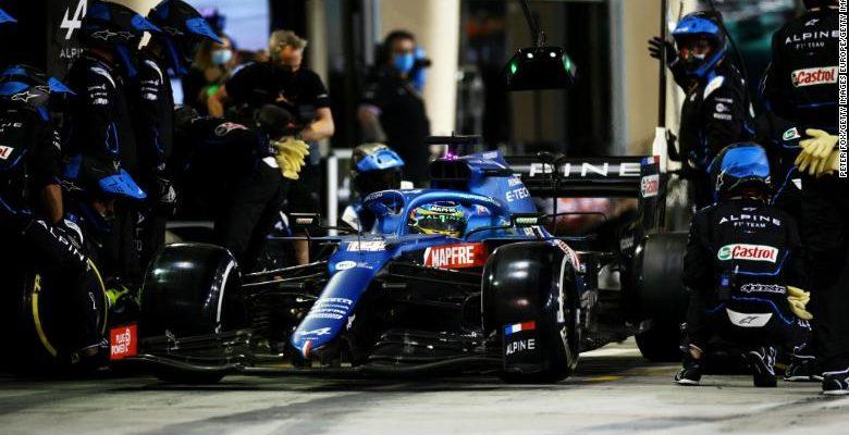 Sandviç ambalaj, Alonso'nun geri dönüş yarışını mahvetti