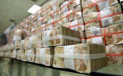 Türk hükümetinin brüt borç stoku 235 milyar dolar